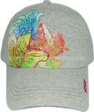 Construido pantalla de impresión bordado sarga deporte gorra de béisbol (rsdb12)