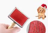Animal de estimação que prepara a escova traseira do animal de estimação de Arcuated, produto do cão