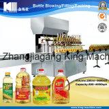 Planta tampando de enchimento automática da máquina do petróleo de palma do frasco de vidro