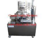 Tipo giratório máquina de enchimento da selagem da vasilha das microplaquetas de batata
