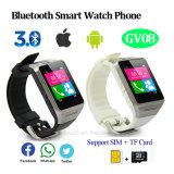 Telefone esperto do relógio de Bluetooth com língua múltipla (GV08)