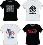 De Fabrikant van de T-shirt van de Druk van het Scherm van de Mensen van het Ontwerp van de katoenen Douane van de Manier in China