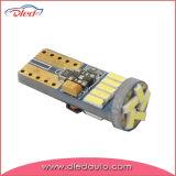 Новый свет автомобиля шарика 12V приборной панели T10 W5w 15*4014SMD