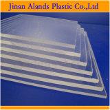 Plexiglass noir et blanc comme le lait de feuille acrylique