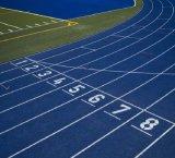 Superfície Running da trilha da borracha para o campo de esportes/campo de jogos/locais de encontro