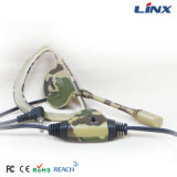 マイクロフォンが付いている涼しい単一の側面の耳のホックのイヤホーン