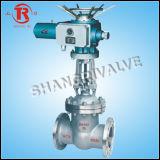 Valvola a saracinesca ad alta pressione flangiata elettrica (Z941H-100)