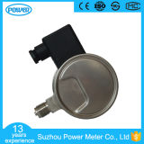 tipo inferior calibre de 100mm Wika de pressão elétrico do contato do vácuo cheio do aço inoxidável