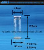 De Fles van het glas voor Drank en de Opslag van de Honing