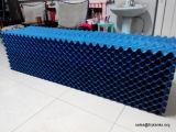 Kühlturm-Fülle-Blöcke