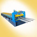 Mattonelle della piattaforma di pavimento d'acciaio che fanno macchina