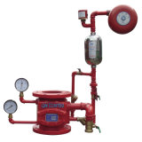 Задерживающий клапан сигнала тревоги высокого качества влажный для бой пожара
