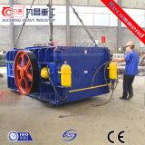 Triturador de rolo Teethed dobro hidráulico para o carvão de pedra do casco