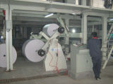 Machine d'enduit de papier enduit de fonte