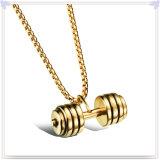 Pendant de mode d'accessoires de mode de bijou d'acier inoxydable (NK465)