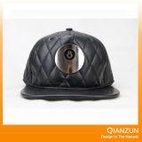 Sombrero del bordado de 3D de los hombres de encargo de Brown