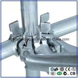 Q345 ; Pièces d'échafaudage galvanisées par acier de Q235 Ringlock avec la qualité