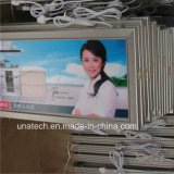 Diodo emissor de luz magro super de alumínio Lightbox frame ao ar livre/interno dos media