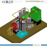 Basura a la planta de reciclaje de energía 5tpd respetuosa del medio ambiente