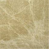 Marmo di pietra naturale di marmo beige chiaro di Emperador per le scale