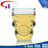 Forma 70 ml Pequeño cráneo taza de cerveza de cristal (CHM8029)