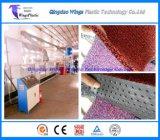 プラスチックPVCコイルの床のマットの押出機機械、中国のPVC車のマットの製造業機械