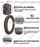 Preiswerter 3.50-8 Zoll-grosser Roller-Reifen-Gummireifen