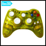 Micro Soft xBox360 Console Video Game Accessoryのための方法Transparent Gray Controller