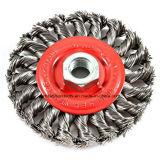 ナットが付いている結ばれた鋼線の車輪