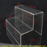 Suporte de tela de acrílico / plexiglass personalizado de duas camadas