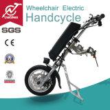 Mini velocidad 36V 250W E-Silla de ruedas Adjunto / Handcycle para personas con discapacidad