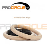 Crossfit Training Wooden Gymnastic Rings с Strap (PC-GR1001)