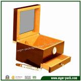 Contenitore di sigaro di legno personalizzato alta qualità
