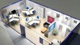 Camera vivente modificata estesa del contenitore dell'ufficio