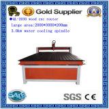 2030 madera, acrílico, MDF, ABS, PVC, máquina del ranurador del CNC