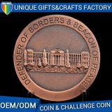 Esmalte duro de la alta calidad con las monedas coloridas de epoxy del metal