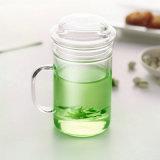Tazza di tè di vetro doppia Handmade all'ingrosso (CHT8609)