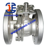 Valvola a sfera pneumatica industriale della flangia dell'acciaio inossidabile di BACCANO