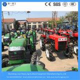 Máquina / equipo agrícola / granja 40HP 4WD diesel / jardín / césped / mini / tractor compacto