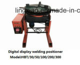 Cer zugelassene Digitalanzeige, die rotierenden Tisch Hbt-50 für rundes Schweißen schweißt