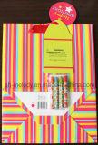 DIY de la bolsa de papel / DIY Crayon Bolsa regalo para las vacaciones y cumpleaños
