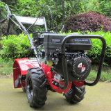 7.0HP motor de gasolina Granja Rotary Cultivador de alimentación del timón