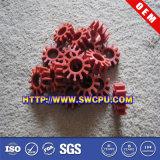 Engranaje plástico, pieza plástica de nylon del engranaje de POM, engranaje de estímulo plástico