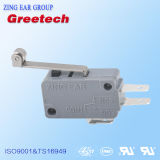 UL RoHS Certification를 가진 전기 New Micro Switch 5A 125VAC 250VAC