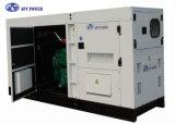 Générateur diesel silencieux d'OIN Doosan 60Hz de la CE, générateur de moteur diesel de 100kVA 80kw