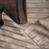 Глянцеватая бронзируя кожа замши полиэфира ткани для домашнего украшения