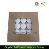 Preiswerte Unscented weiße Tealight Kerze gebildet vom chinesischen Hersteller