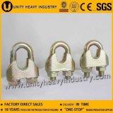 Clip galvanisé de câble métallique de la fonte malléable DIN1142