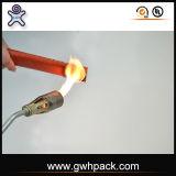 Funda hecha punto fibra de vidrio del fuego del silicón