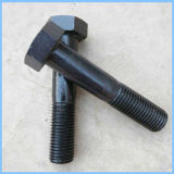 8.8 Bullone e noce Hex di rivestimento DIN933 del nero del grado